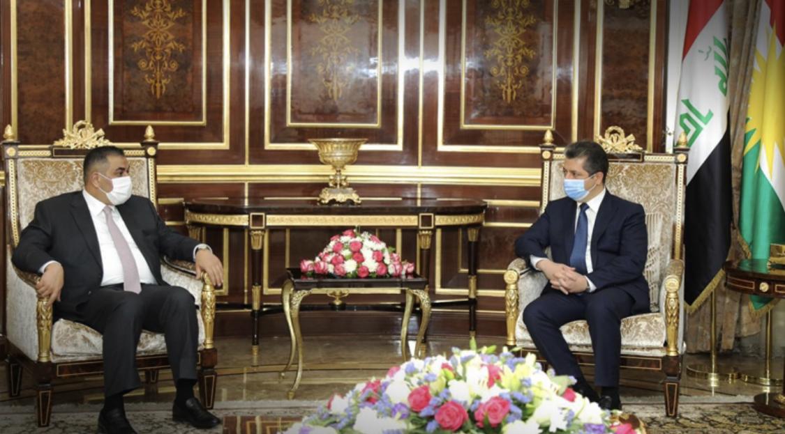 Başbakan, Irak Merkez Bankası Başkanını kabul etti