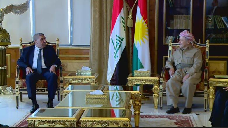 Başkan Barzani Sadr hareketi heyetini kabul etti