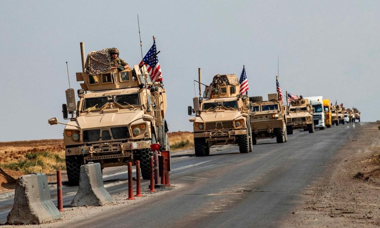 Koalisyon'dan Rojava'ya askeri takviye: 125 kamyon ve askeri araç!