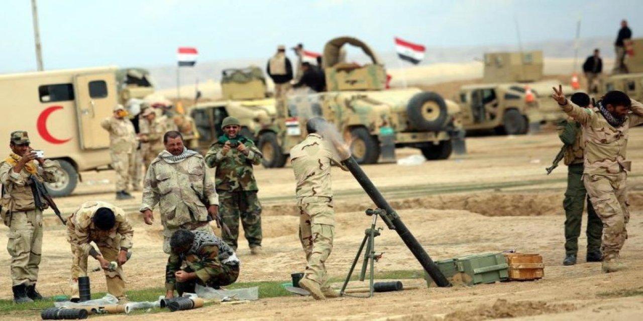 Saldırının gerçekleştiği üste Irak ordusuna askeri yardım!