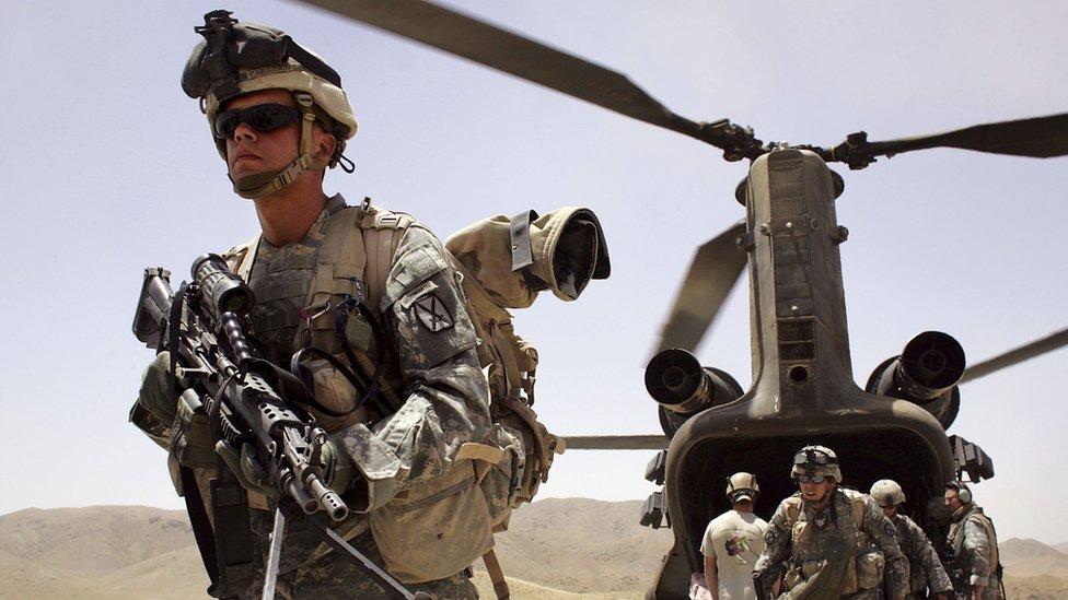 ABD'den Afganistan'a takviye kuvvet!