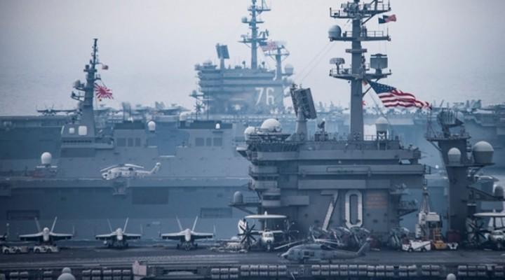 Fransa, ABD ve Japonya'dan 'o ülkeye' karşı ortak tatbikat planı!