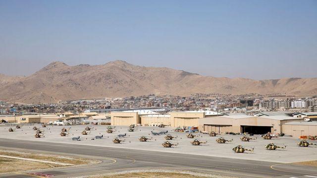 Kabil'deki havalimanına hava savunma sistemi yerleştirildi!