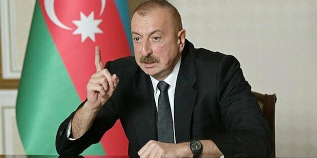 Aliyev'den İran'a sert tepki: Cevapsız kalmayacak!