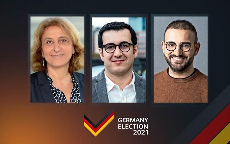 Almanya'da seçim   İlk sonuçlara göre üç Kürt aday meclislere seçildi