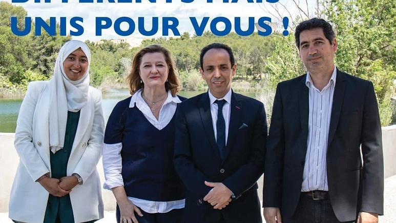 Fransa'da başörtülü aday krizi: Macron'un partisi 'o ismi' adaylıktan çekti!