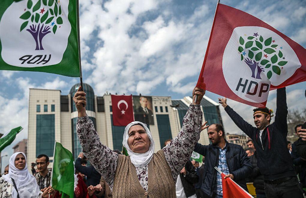 HDP'nin kapatılma iddianamesi: AYM raportörü ilk incelemeyi kabule etti!