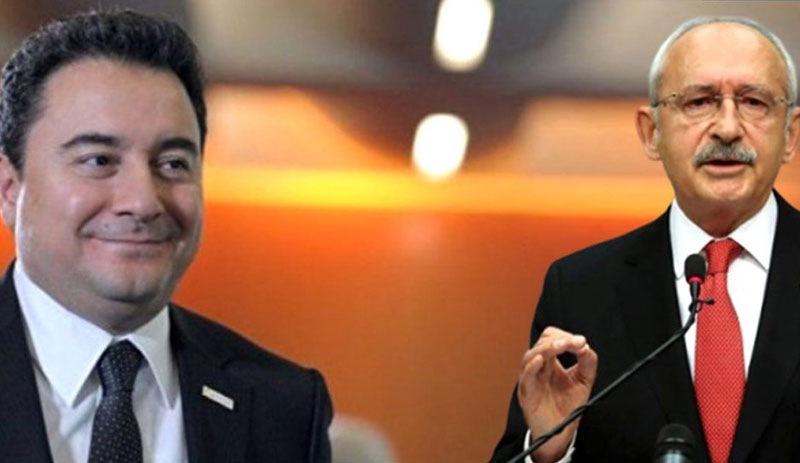Kemal Kılıçdaroğlu'ndan, Ali Babacan'ın 'ortak aday' çağrısına yanıt