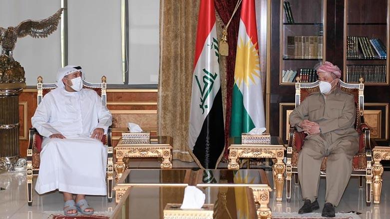 Başkan Mesud Barzani, BAE heyeti ile görüştü
