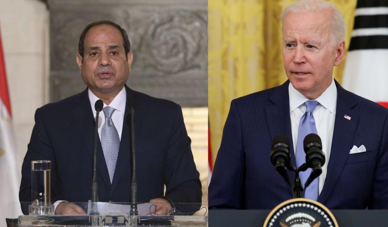 Biden, Sisi ile Orta Doğu'yu görüştü!