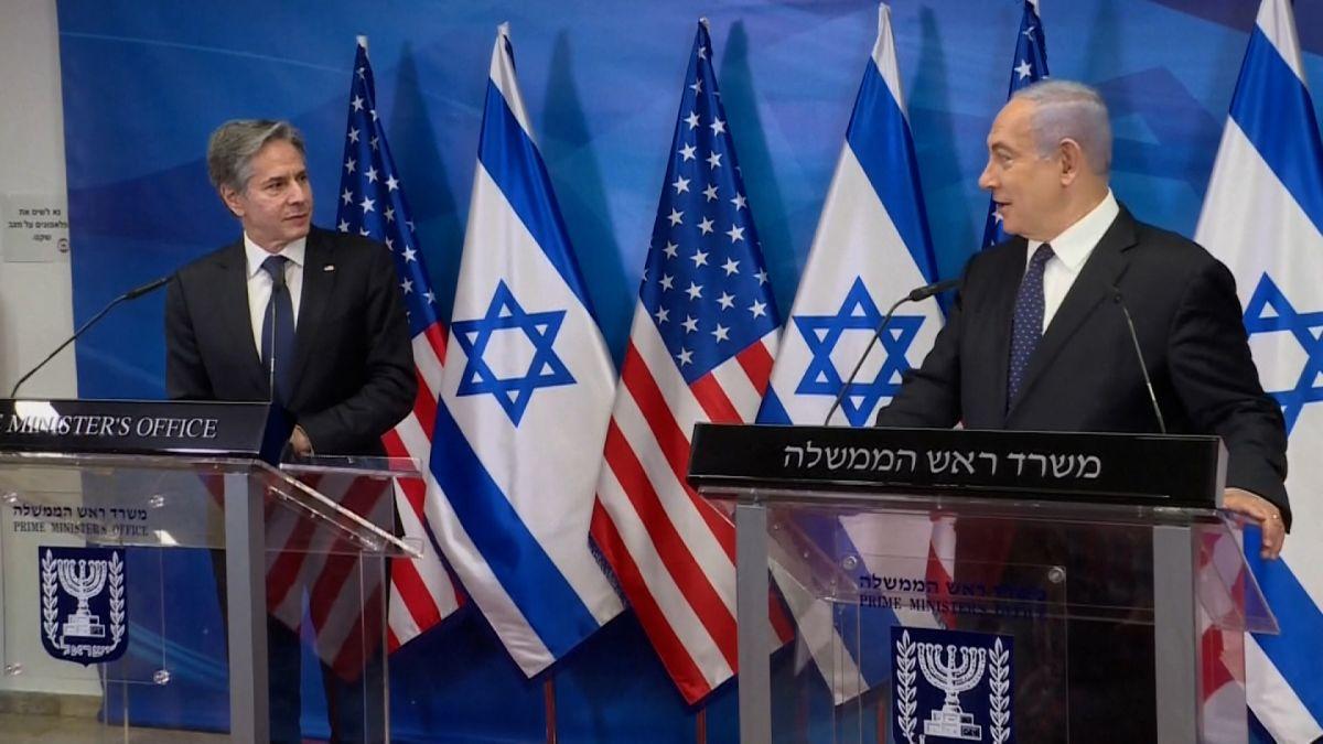 Netanyahu ile görüşen Blinken'dan İran, İsrail ve Gazze açıklaması!
