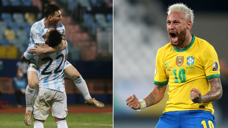 Kupa Amerika'da finalin adı Brezilya – Arjantin