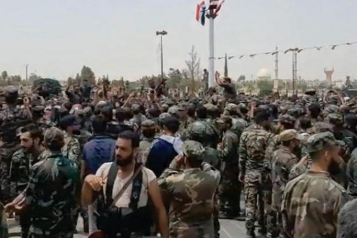 Dera'yı terk eden muhalifler Suriye'nin kuzeyine yerleşti!