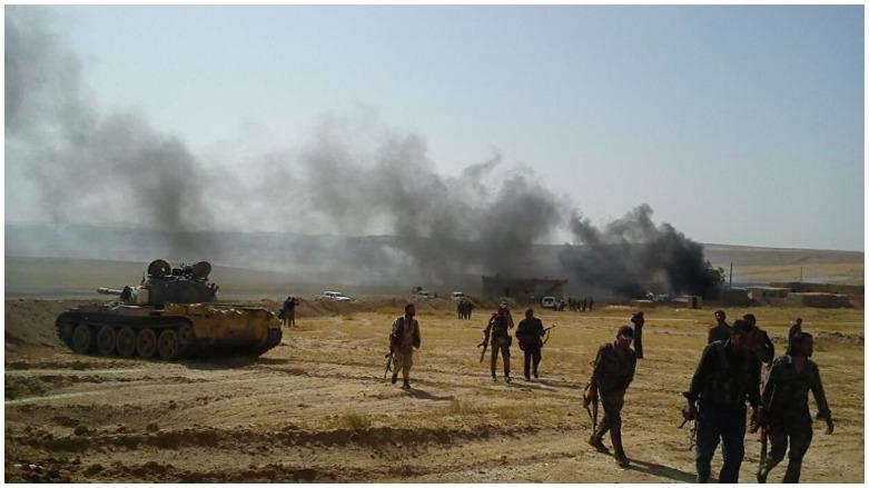 DSG, 'o bölgeyi' Türkiye destekli milislerden geri aldı!