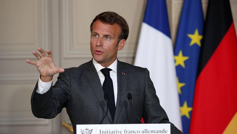 Emmanuel Macron: 'O toprakları' terk etmeleri gerekiyor
