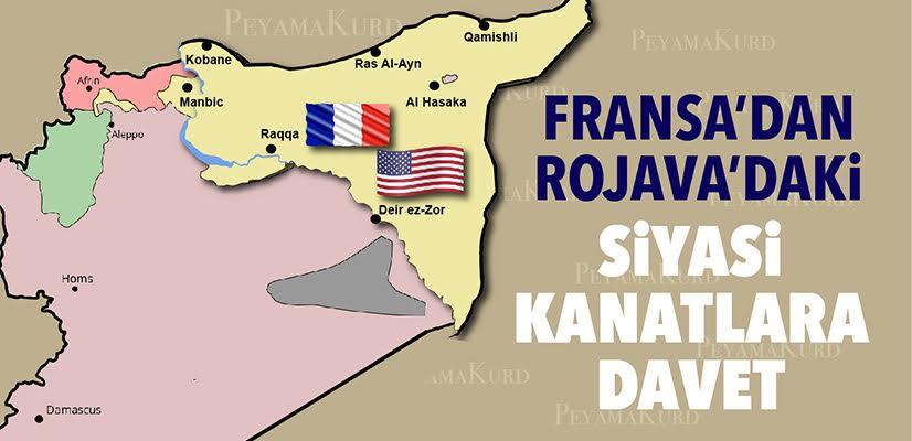 """""""Fransa, Rojava'da bir gecede ortaya çıkmadı temeli 2015'e dayanıyor"""""""