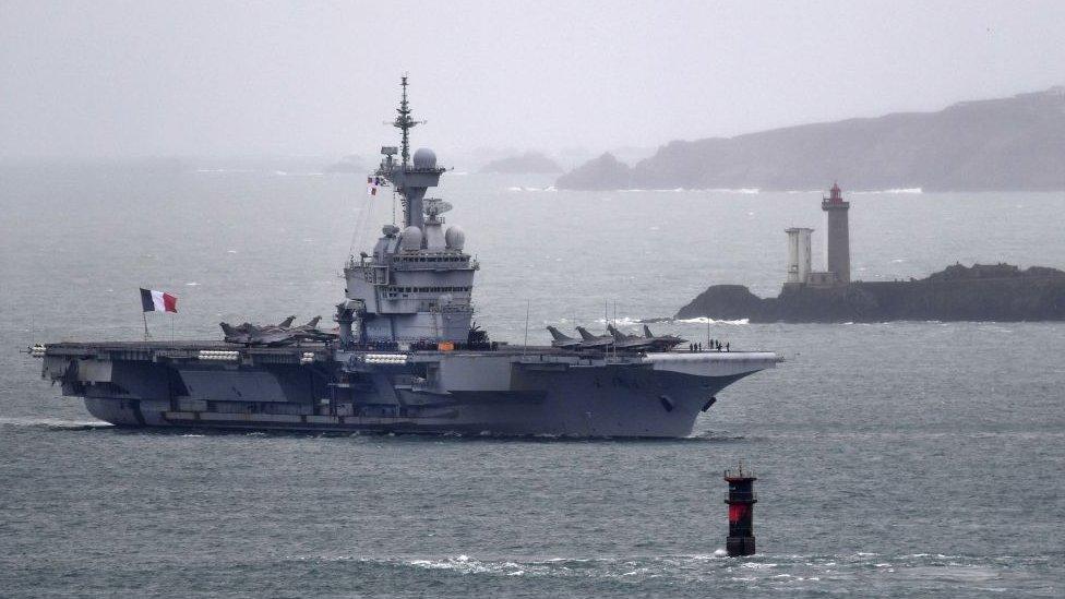 Rusya'dan Karadeniz'e giren Fransız savaş gemisi hakkında açıklama!