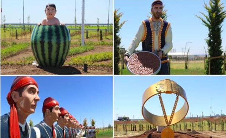 Diyarbakır Valisi alay konusu olan heykelleri savundu: Gerçeğe çok uygun!