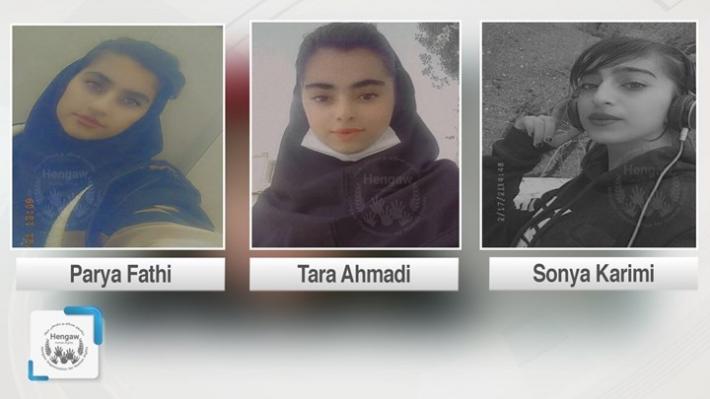 İran istihbaratı 3 Kürt kız çocuğunu gözaltına aldı!