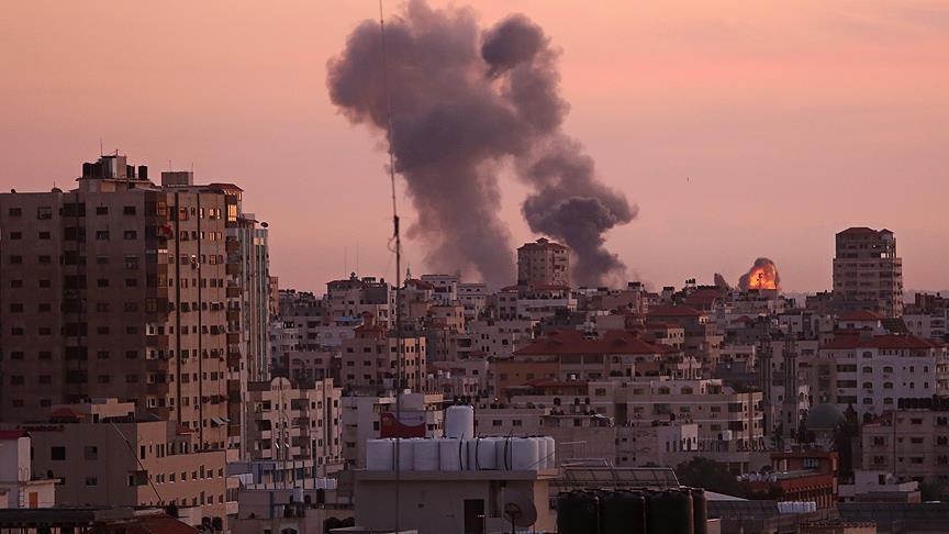 Netanyahu'suz İsrail'den Gazze'ye bir haftada 2'inci hava saldırısı!