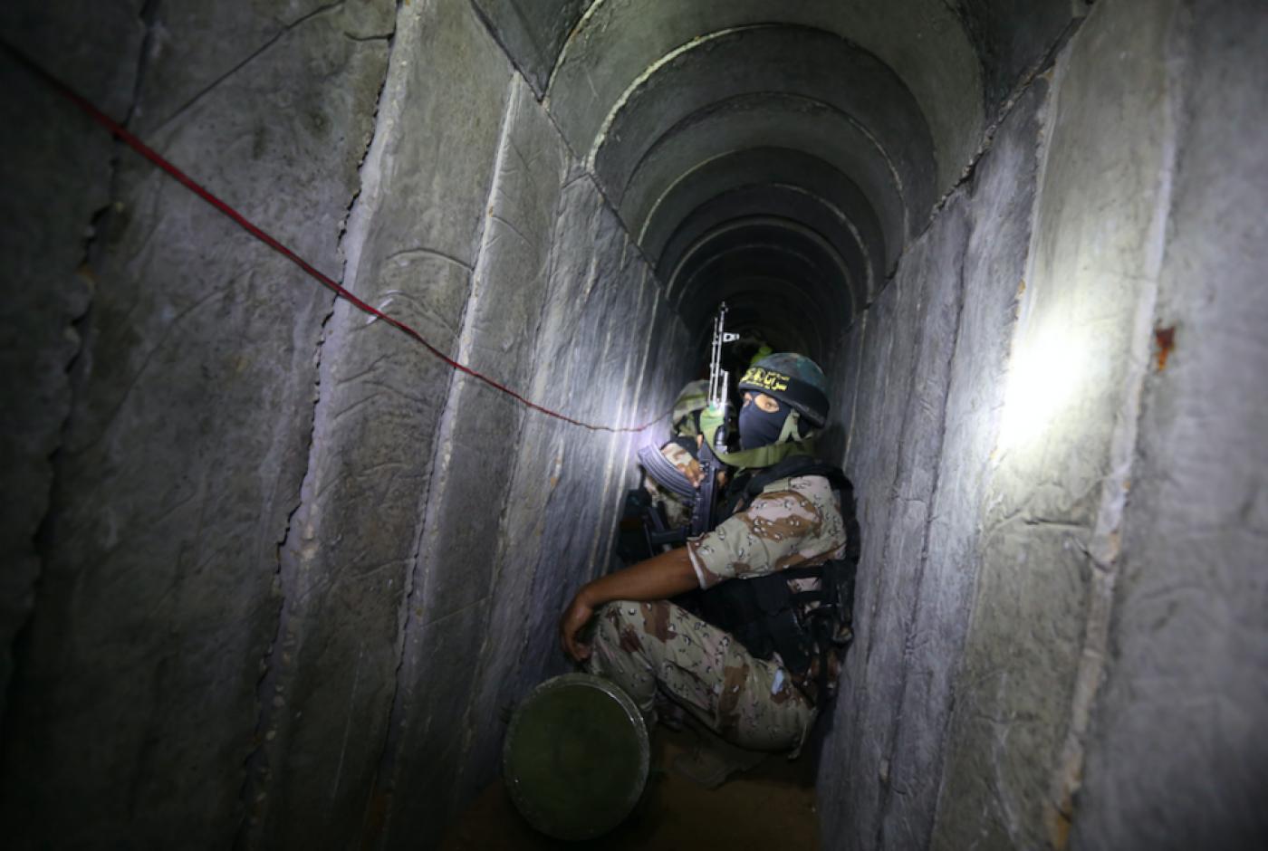 İsrail, Hamas'a ait 15 kilometrelik tüneli imha etti!