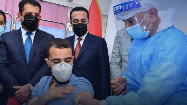 Pfizer-BioNTech aşıları Kürdistan Bölgesi'ne ulaştı!