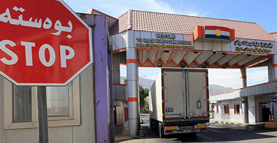 Türkiye ile Kürdistan Bölgesi arasındaki sınır geçişleri için yeni karar!