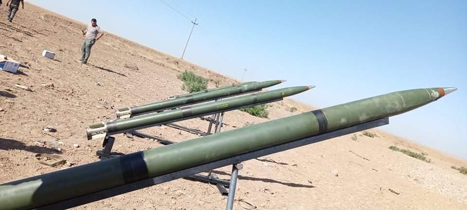 Kerkük | Peşmerge mevzilerini hedefleyen füzeler ele geçirildi