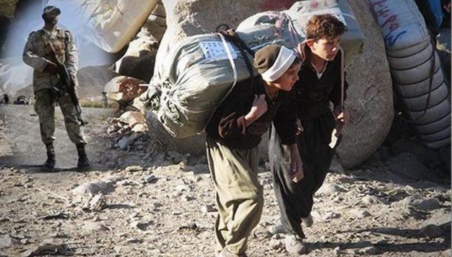 İran askerlerinden kaçan Kürt kolber boğularak can verdi!