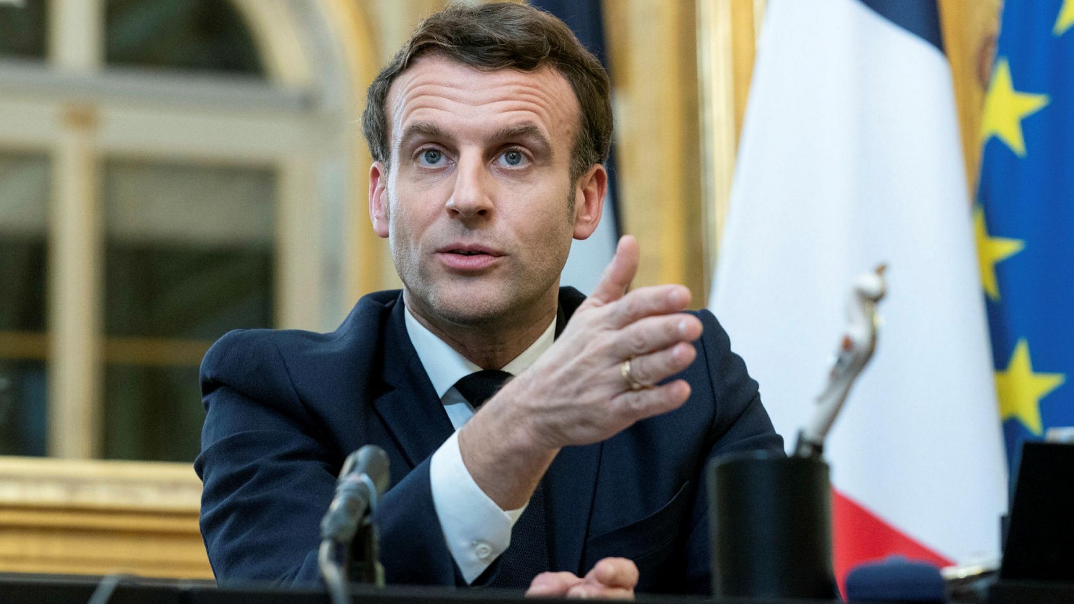 Macron'dan itiraf: Rolümüzü kabul ediyoruz ama suç ortağı değiliz