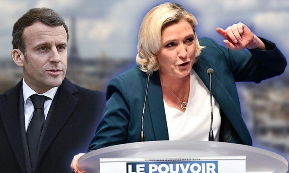 Macron'un rakibi olan aşırı sağcı lider hakkında 'yolsuzluk' raporu!