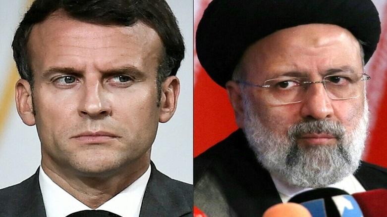 Macron, Reisi ile Irak, Lübnan ve nükleer anlaşma konusunu ele aldı!