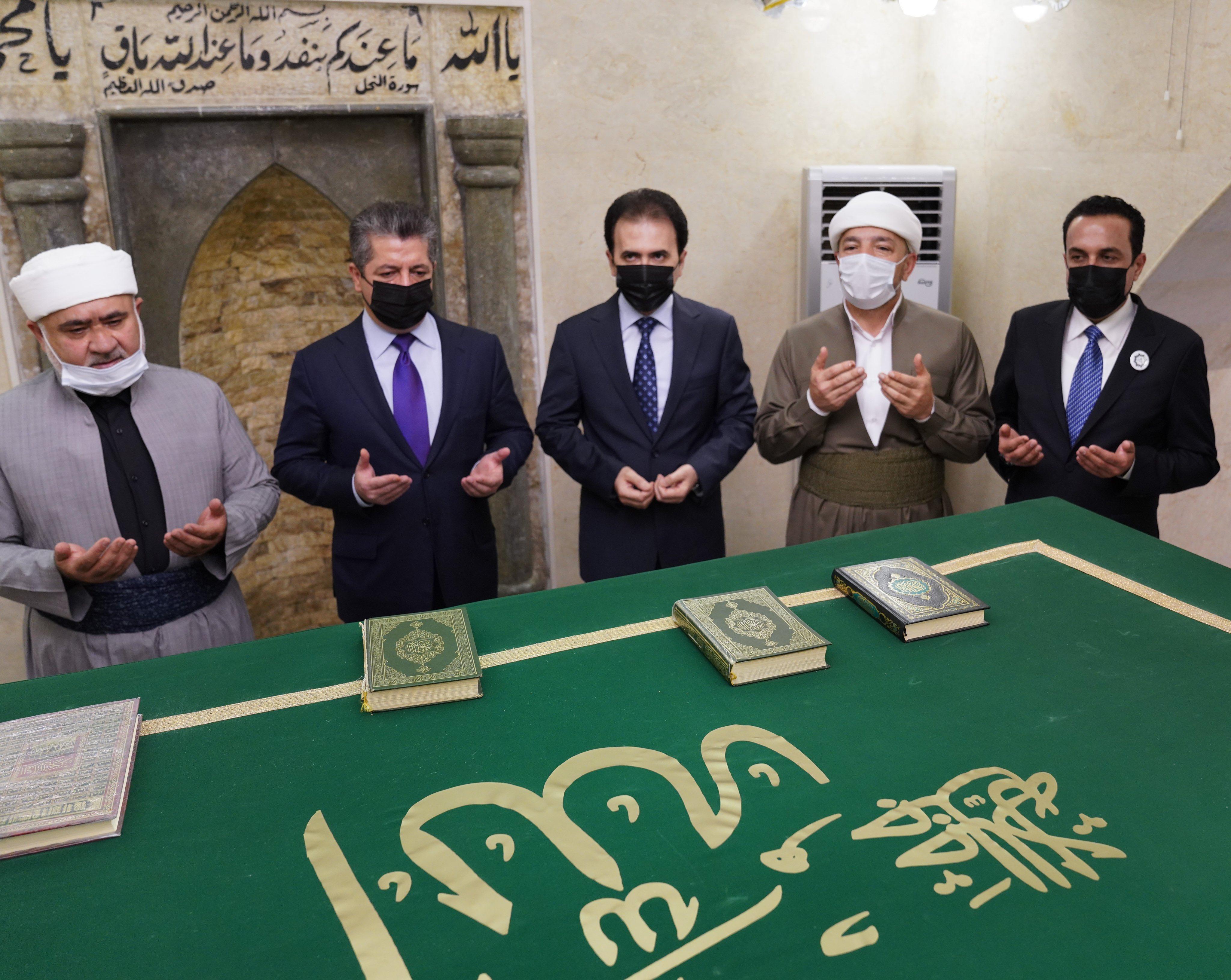 Erbil | Başbakan Mevlid programına katıldı!