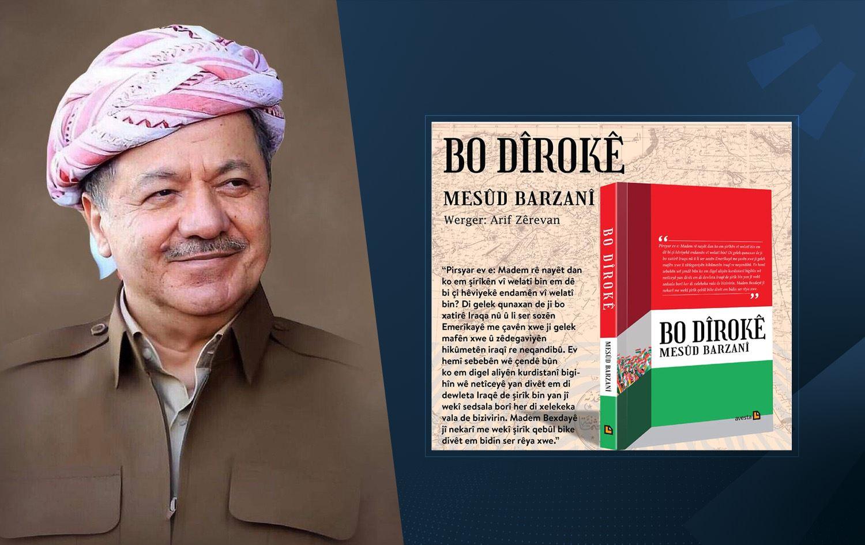 Başkan Barzani'nin kitabının Kurmanci baskısı yayımlandı!