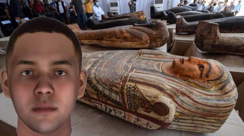 Antik Mısırlı üç erkeğin yüzleri yeniden canlandırıldı!