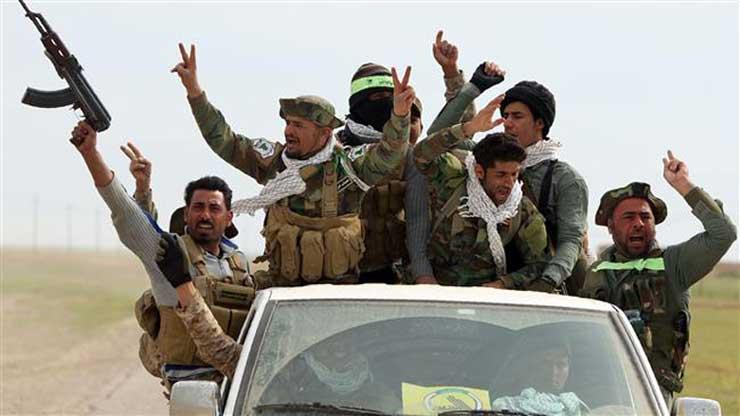 ABD raporu: Şii milisler, Irak-Suriye sınırında yarı devlet konumunda!