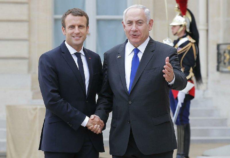 "Macron'dan Netanyahu'ya ""meşru müdafaa"" desteği!"