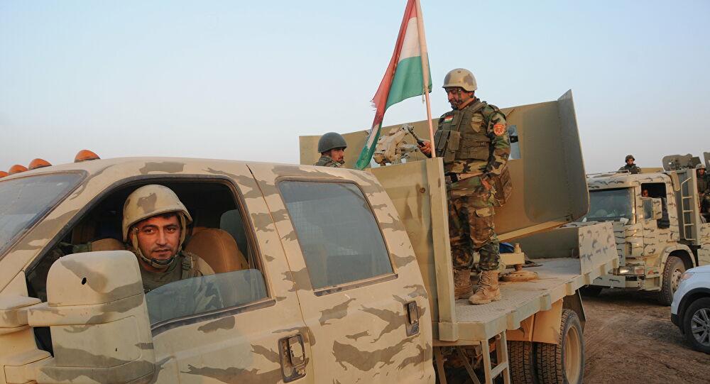 Peşmerge Güçleri Kerkük'ün ardından Mahmur'da da faaliyete geçti
