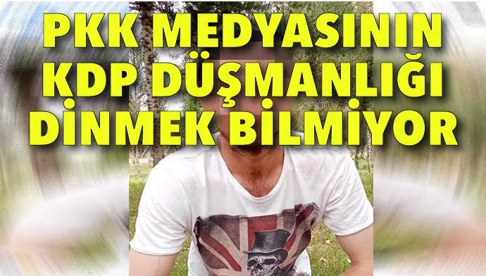 """""""PKK medyası 'teslim edildiler' diyor oysa 'kendileri' geri dönüyor """""""
