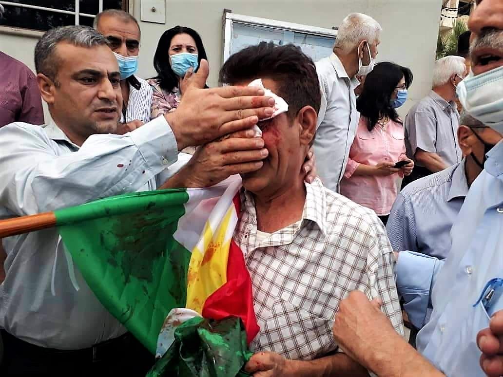 Rojava'daki protestolara saldırı!