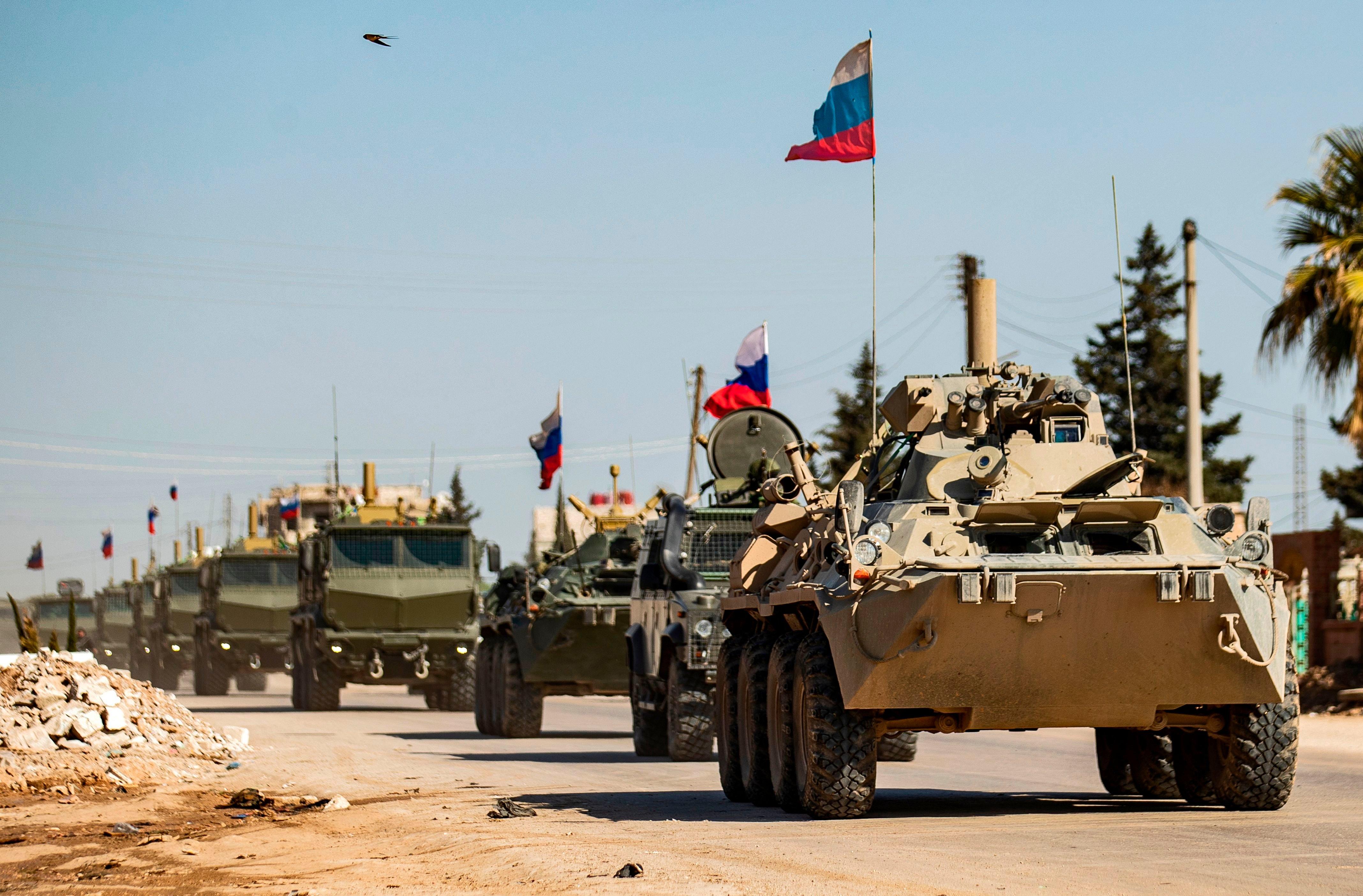 Rusya'dan helikopter saldırısının ardından Rojava'ya askeri takviye!