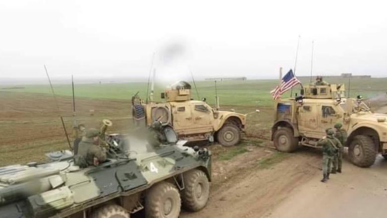 """""""Haseke'de ABD askeri konvoyu, Rus güçleri tarafından durduruldu"""" iddiası!"""
