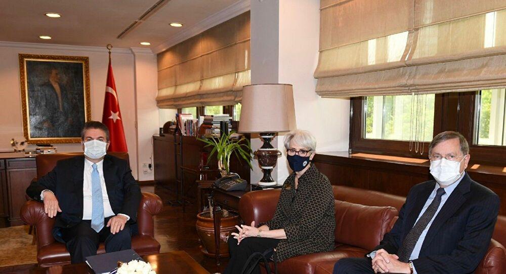 Biden yönetiminden Türkiye'ye ilk ziyaret: Karşılıklı açıklamalar