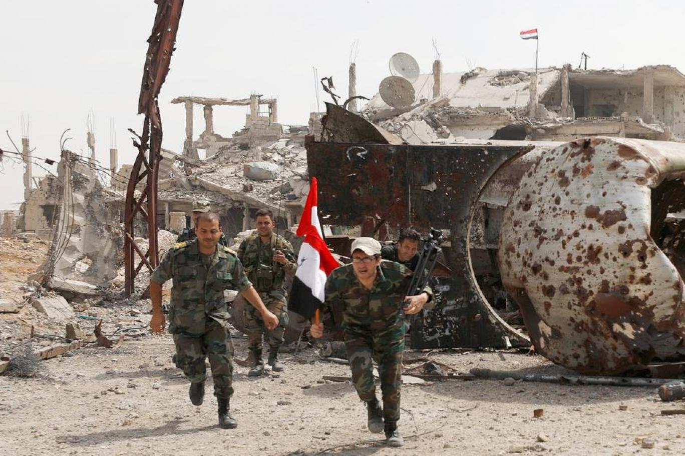 Suriye ordusuna Hama'da saldırı: Üst düzey bir komutan ve 5 asker öldürüldü!