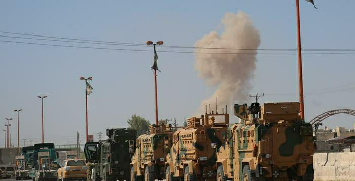 """Reuters: Türkiye olası bir harekata karşı """"o bölgeye"""" çok sayıda asker gönderdi!"""