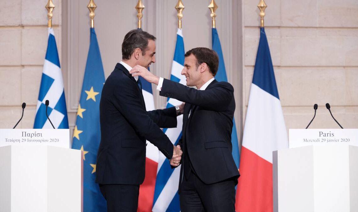 Fransa ile Yunanistan arasında önemli anlaşma!
