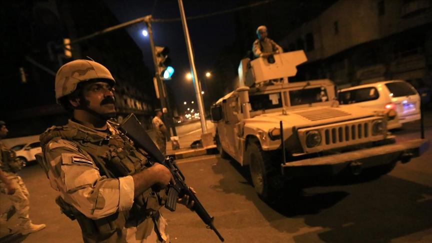 Kazımi'nin mesajının ardından Irak askerleri Bağdat sokaklarına indi!