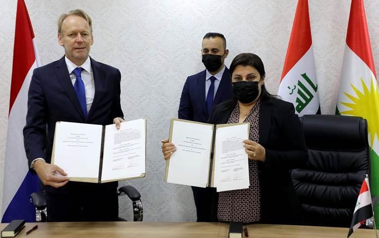 Kürdistan Bölgesi ile Hollanda arasında anlaşma!