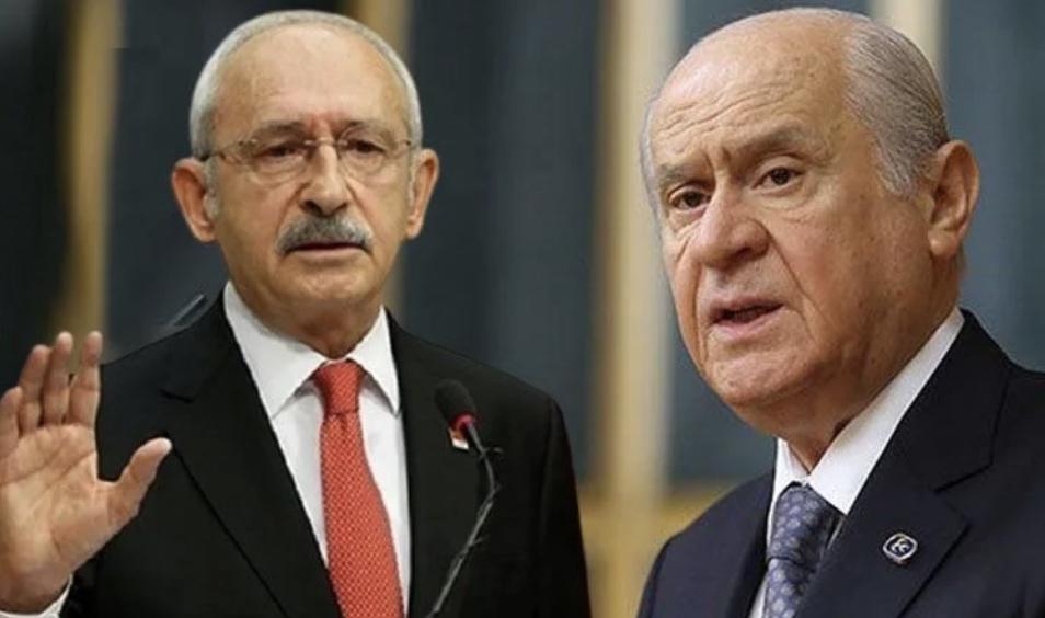 Kılıçdaroğlu'nun HDP açıklamasına Bahçeli'den tepki!