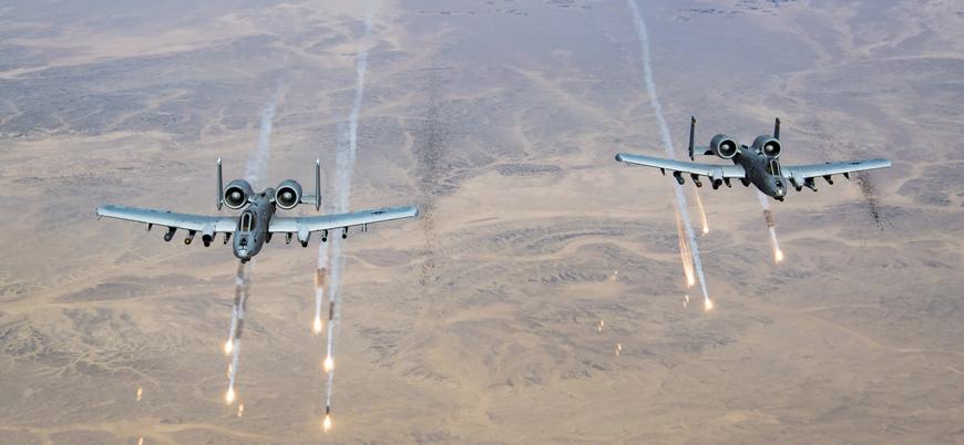 ABD güçleri, Taliban'a 4 saldırı gerçekleştirdi